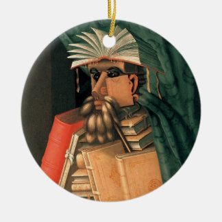 The Librarian Christmas Ornaments