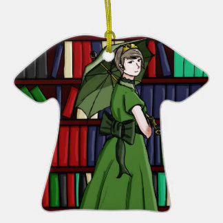 The Librarian Ceramic T-Shirt Decoration