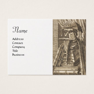 THE LIBRARIAN , Pearl Paper Business Card