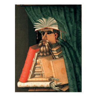 The Librarian Postcard