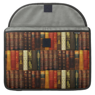 The Library Book Bag Mac Case MacBook Pro Sleeves