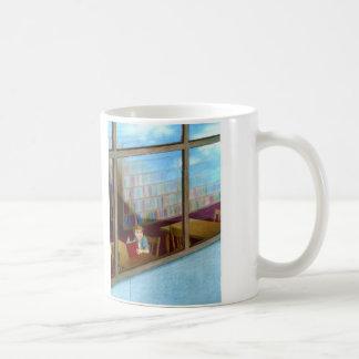 """The Library"" by Suzi German Coffee Mug"