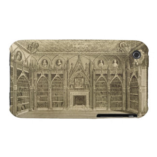 The Library, engraved by Godfrey, from 'Descriptio iPhone 3 Covers