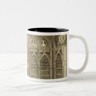 The Library, engraved by Godfrey, from 'Descriptio Two-Tone Coffee Mug