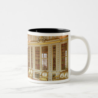 The library of Louis XVI  decorated in 1781 Two-Tone Coffee Mug