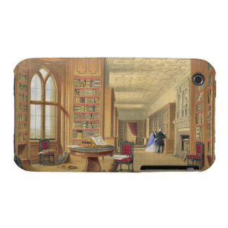 The Library, Windsor Castle, 1838 (colour litho) iPhone 3 Cases