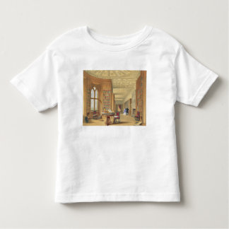 The Library, Windsor Castle, 1838 (colour litho) Toddler T-shirt