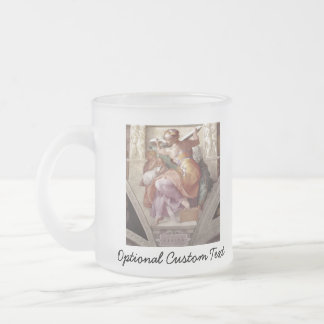 The Libyan Sybil Frosted Glass Coffee Mug