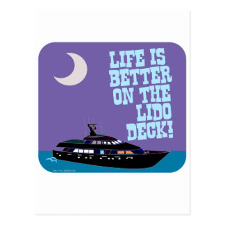 The Lido Deck Post Cards