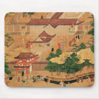 The Life and Pastimes of the Japanese Court, Tosa Mouse Pad