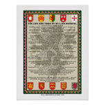 The Life and Times of William Marshal Poster