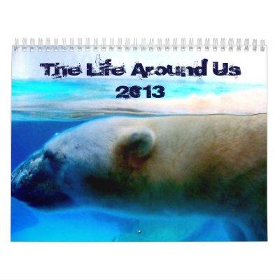 The Life Around Us Calendar 2013