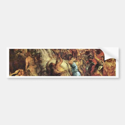 The Life Cycle Of Paintings Of Henri Iv To Marie Bumper Sticker