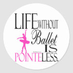 The life how seal which does not have the ballet classic round sticker
