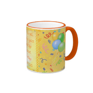 The Life In Your Years Birthday Mug