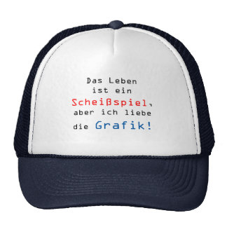 The life is a shitting play, but I love… Trucker Hat