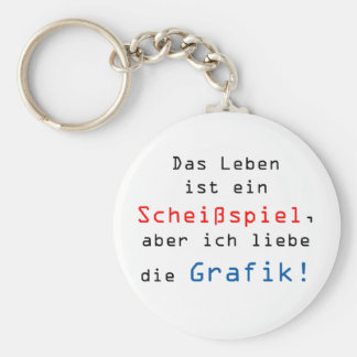The life is a shitting play, but I love… Keychain