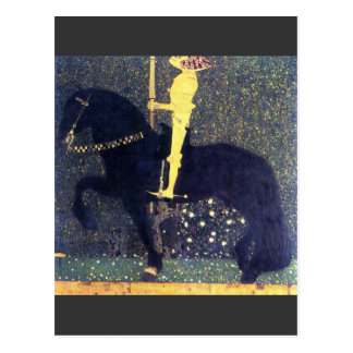 The life of a struggle (The Golden Knights) -Klimt Postcard