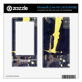 The life of a struggle (The Golden Knights) -Klimt Decal For The Zune HD