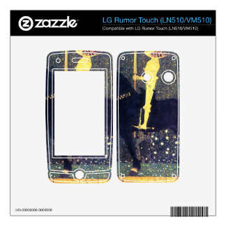 The life of a struggle (The Golden Knights) -Klimt Decals For LG Rumor Touch