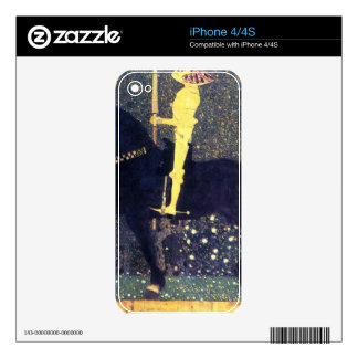 The life of a struggle (The Golden Knights) -Klimt Skin For The iPhone 4