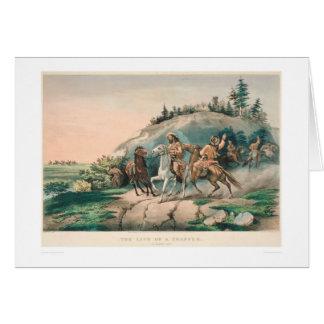 The Life of a Trapper: A Sudden Halt (0877A) Card