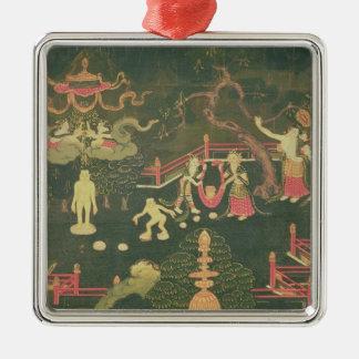 The Life of Buddha Shakyamuni Metal Ornament
