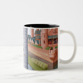 The Life of Louis II  'The Stammerer' Two-Tone Coffee Mug