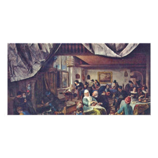 The Life Of Man.,  By Jan Havicksz. Steen  (Best Q Personalized Photo Card