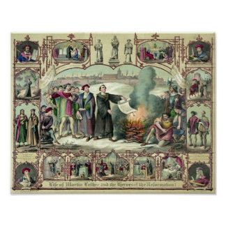 The life of Martin Luther Poster