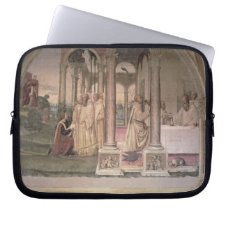 The Life of St. Benedict (fresco) (detail) 3 Laptop Sleeves