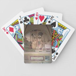 The Life of St. Benedict (fresco) (detail) 3 Poker Deck