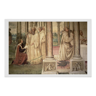 The Life of St. Benedict (fresco) (detail) 3 Poster