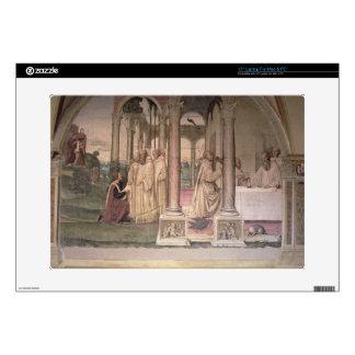 The Life of St. Benedict (fresco) (detail) 3 Skins For Laptops