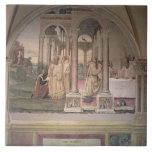 The Life of St. Benedict (fresco) (detail) 3 Ceramic Tile