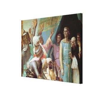 The Life of St. Louis Canvas Print