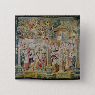 The Life of St. Remigius  bishop of Reims Pinback Button