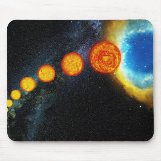 The Life of the Sun in Several Billion Years Mouse Pad
