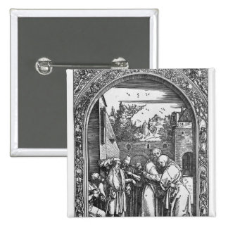 The 'Life of the Virgin' series 2 Inch Square Button