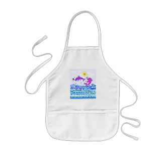 The Life Saver Dolphins Kids' Apron
