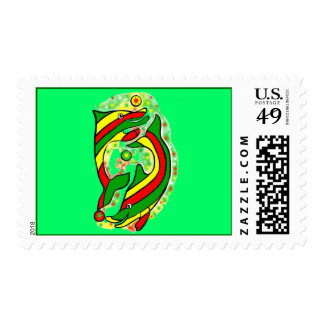 The Life Saver Dolphins Postage Stamp
