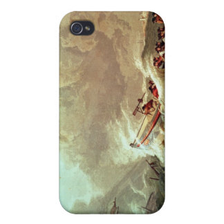 The Lifeboat off Tynemouth Bay iPhone 4 Case
