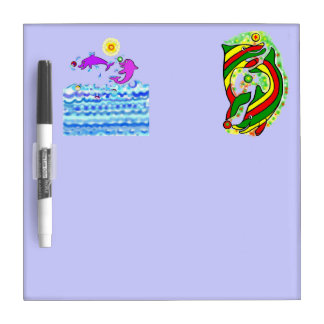 The Lifesaver Dolphins Dry Erase Boards