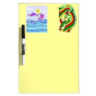 The Lifesaver Dolphins Dry-Erase Whiteboards