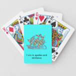 The Lifesaver Rainbow Dolphins Playing Cards