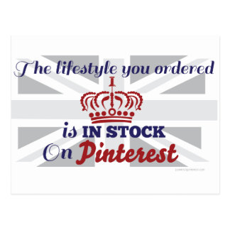 The Lifestyle You Ordered Is In Stock On Pinterest Postcard
