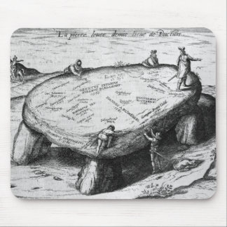 The Lifted Stone, illustration from Mouse Pad