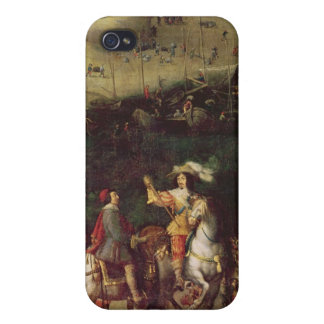 The Lifting of the Siege of the Ile de Re Cover For iPhone 4