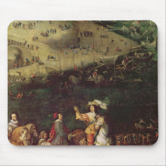 The Lifting of the Siege of the Ile de Re Mouse Pad