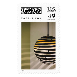The light and the lines postage